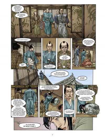 Page 7 Le masque aux mille larmes tome 2