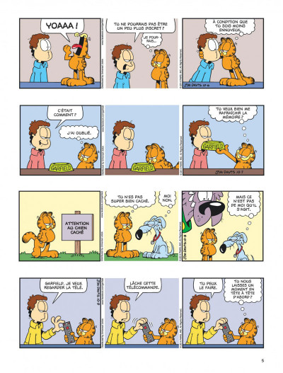 Page 5 Garfield tome 69