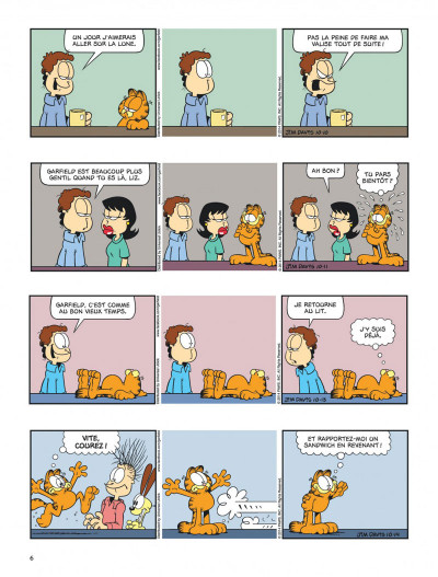 Page 6 Garfield tome 69