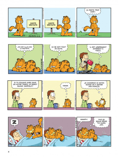 Page 8 Garfield tome 69