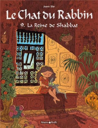 Couverture Le chat du rabbin tome 9