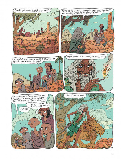 Page 9 Le chat du rabbin tome 9