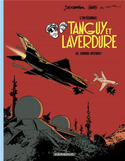 Couverture Les aventures de Tanguy et Laverdure - intégrale tome 10