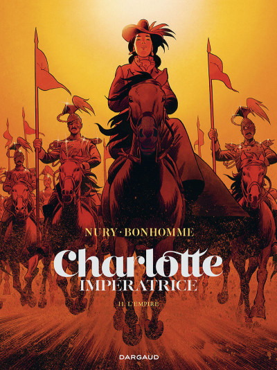 Couverture Charlotte imperatrice tome 2 + ex-libris offert