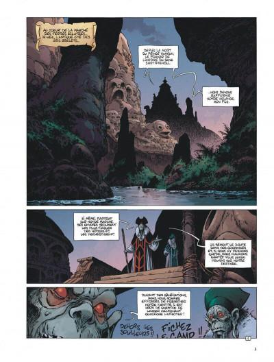 Page 3 Avant la quête de l'oiseau du temps tome 6