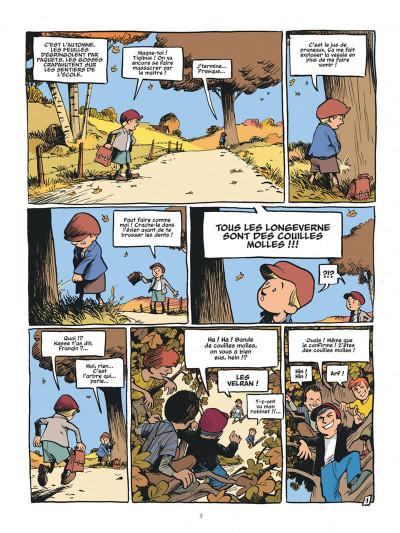 Page 3 La guerre des boutons - intégrale