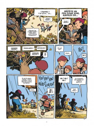 Page 4 La guerre des boutons - intégrale