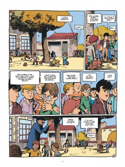 Page 5 La guerre des boutons - intégrale