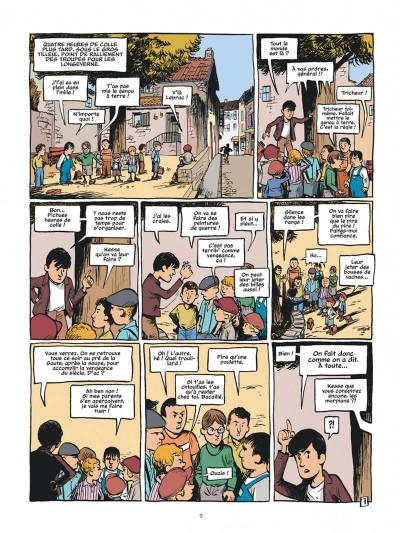 Page 9 La guerre des boutons - intégrale