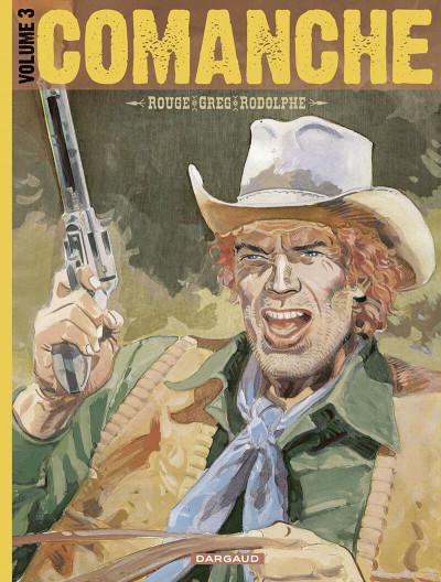 Couverture Comanche - intégrale tome 3