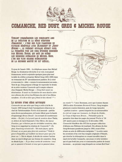 Page 3 Comanche - intégrale tome 3