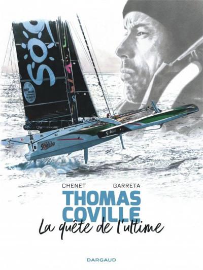 Couverture À bord avec Thomas Coville