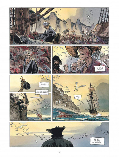 Page 9 Long john silver - intégrale tome 2