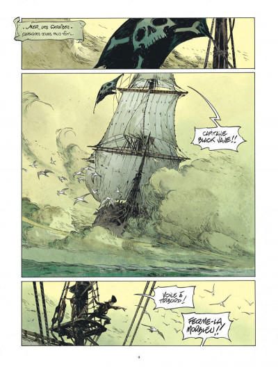 Page 4 Raven tome 1
