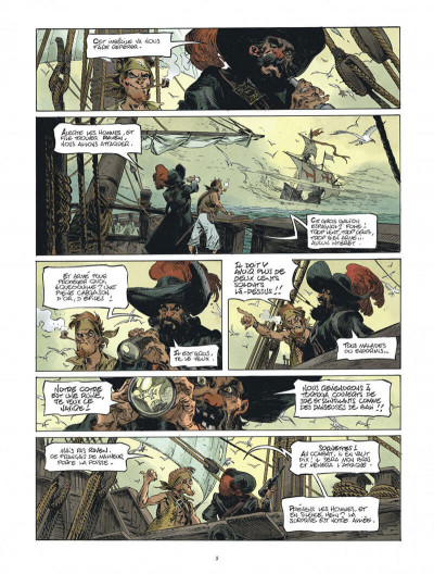 Page 5 Raven tome 1