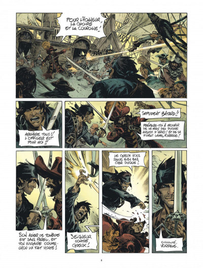 Page 8 Raven tome 1
