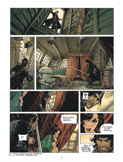 Page 9 Raven tome 1