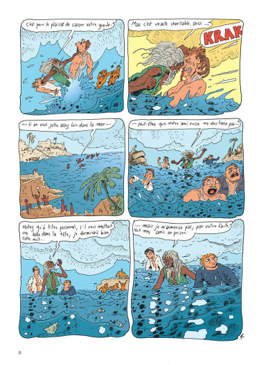 Page 8 Le chat du rabbin tome 10