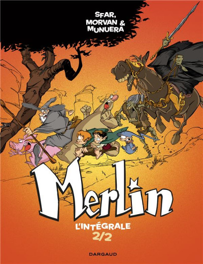 Couverture Merlin - intégrale tome 2