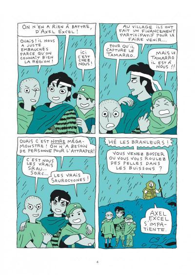 Page 4 Les Sauroctones tome 1