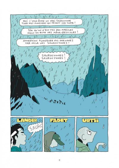Page 6 Les Sauroctones tome 1