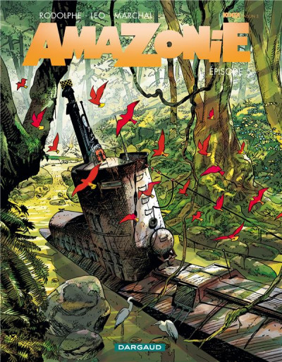 Couverture Amazonie tome 5