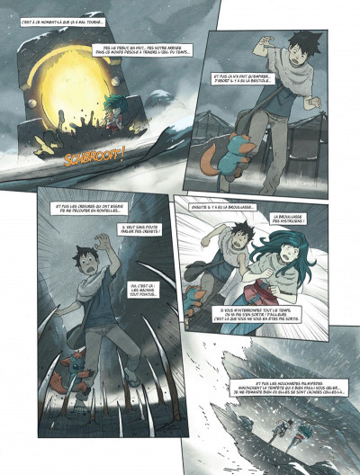 Page 3 Le monde de Milo tome 8