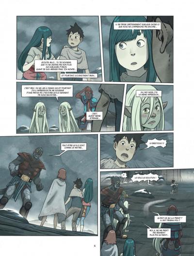 Page 6 Le monde de Milo tome 8