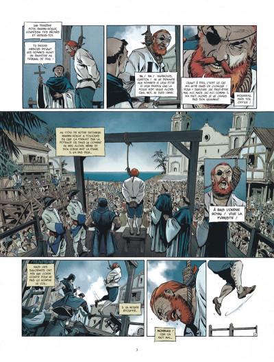 Page 3 Les nouvelles aventures de Barbe-Rouge tome 1