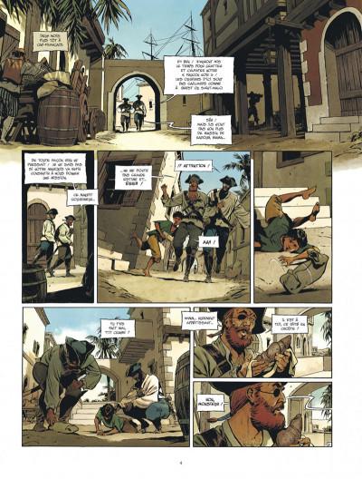 Page 4 Les nouvelles aventures de Barbe-Rouge tome 1
