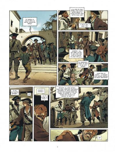 Page 5 Les nouvelles aventures de Barbe-Rouge tome 1