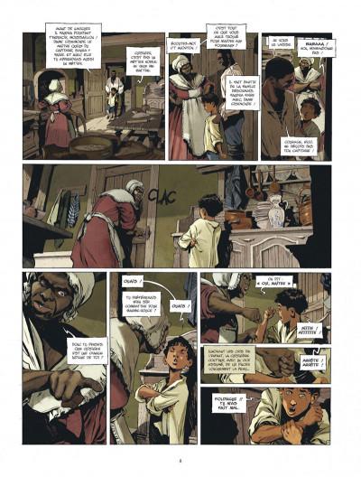 Page 8 Les nouvelles aventures de Barbe-Rouge tome 1