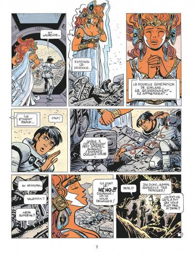 Page 5 Valérian tome 21