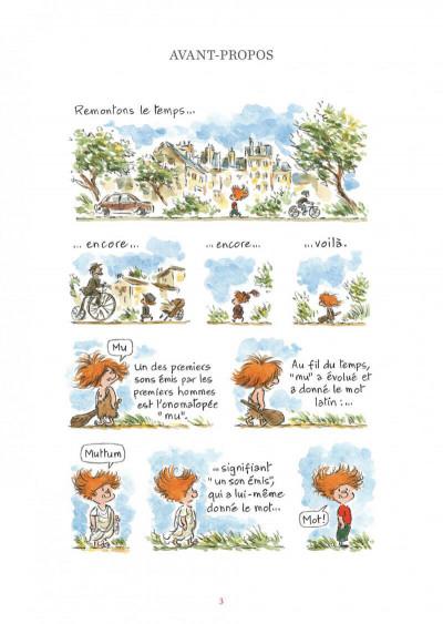Page 3 L'étymologie avec Pico Bogue tome 2
