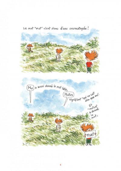 Page 4 L'étymologie avec Pico Bogue tome 2