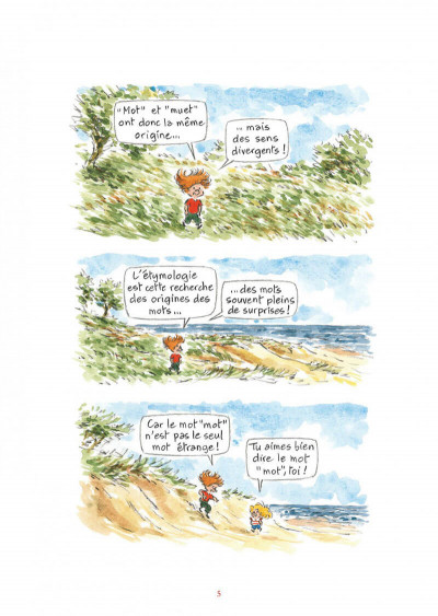 Page 5 L'étymologie avec Pico Bogue tome 2