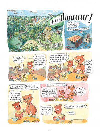 Page 8 Le temps des mitaines tome 1