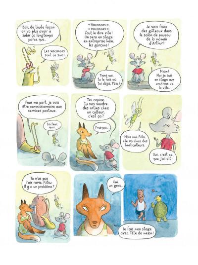 Page 2 Le temps des mitaines tome 2