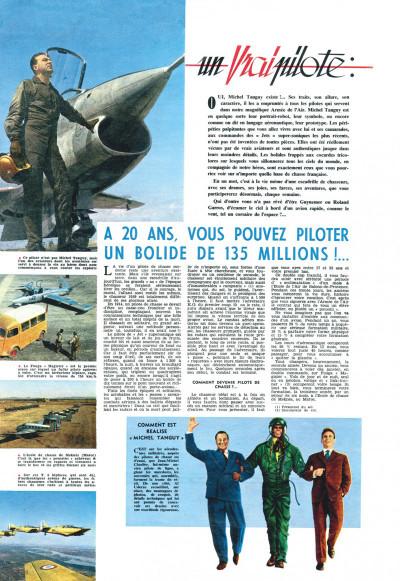 Page 2 Tanguy et Laverdure - L'école des aigles (Pilote)