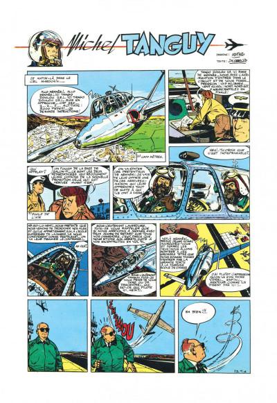Page 3 Tanguy et Laverdure - L'école des aigles (Pilote)