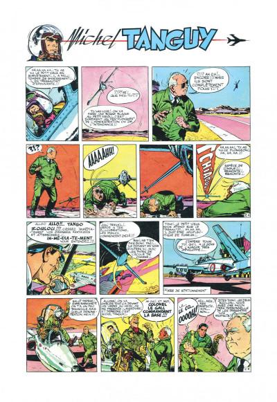 Page 4 Tanguy et Laverdure - L'école des aigles (Pilote)