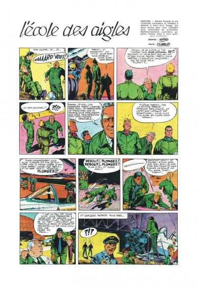 Page 5 Tanguy et Laverdure - L'école des aigles (Pilote)