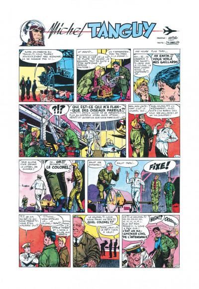 Page 6 Tanguy et Laverdure - L'école des aigles (Pilote)