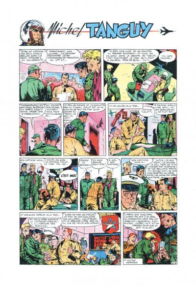 Page 8 Tanguy et Laverdure - L'école des aigles (Pilote)
