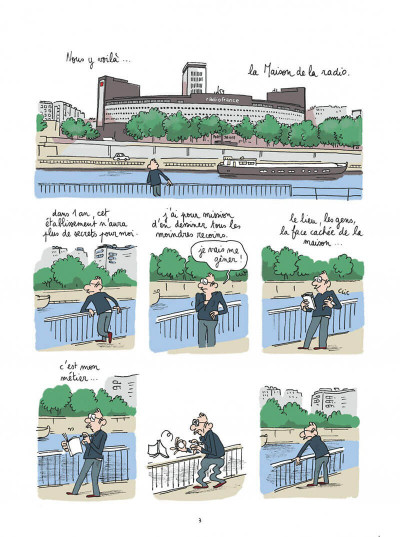 Page 3 Maison ronde, radio France de fond en comble