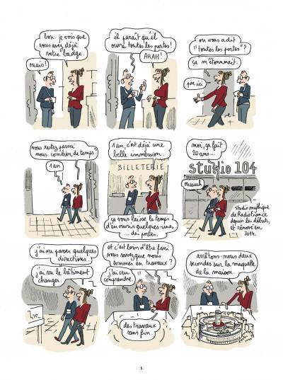 Page 5 Maison ronde, radio France de fond en comble