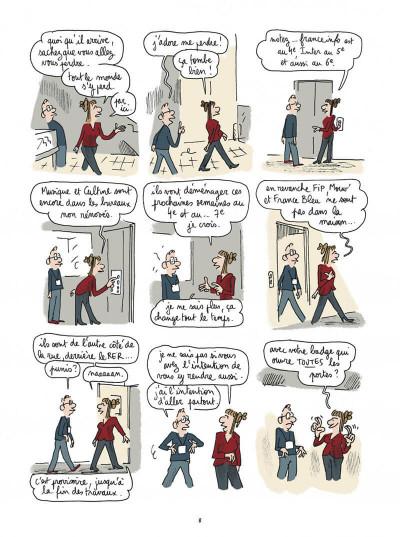 Page 8 Maison ronde, radio France de fond en comble