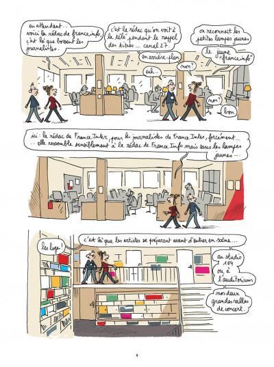 Page 9 Maison ronde, radio France de fond en comble