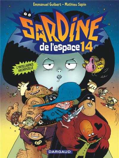 Couverture Sardine de l'espace tome 14