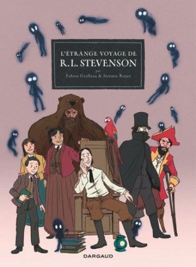 Couverture L'étrange voyage de R. L. Stevenson